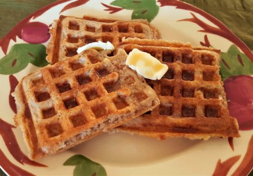 Amazing Sourdough Waffles in Recipes